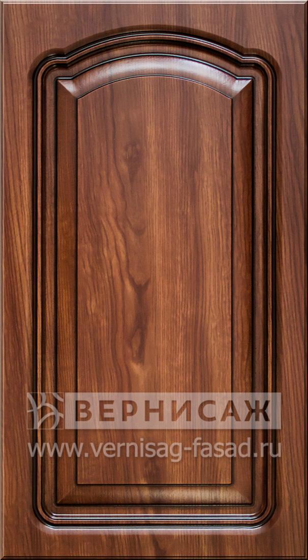 Фасады в пленке ПВХ, Фрезеровка № 40-1, цвет -Черешня, патина - орех