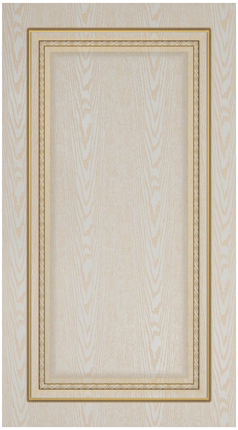 Фасады в пленке ПВХ патинированные, Фрезеровка 51, цвет золотое дерево