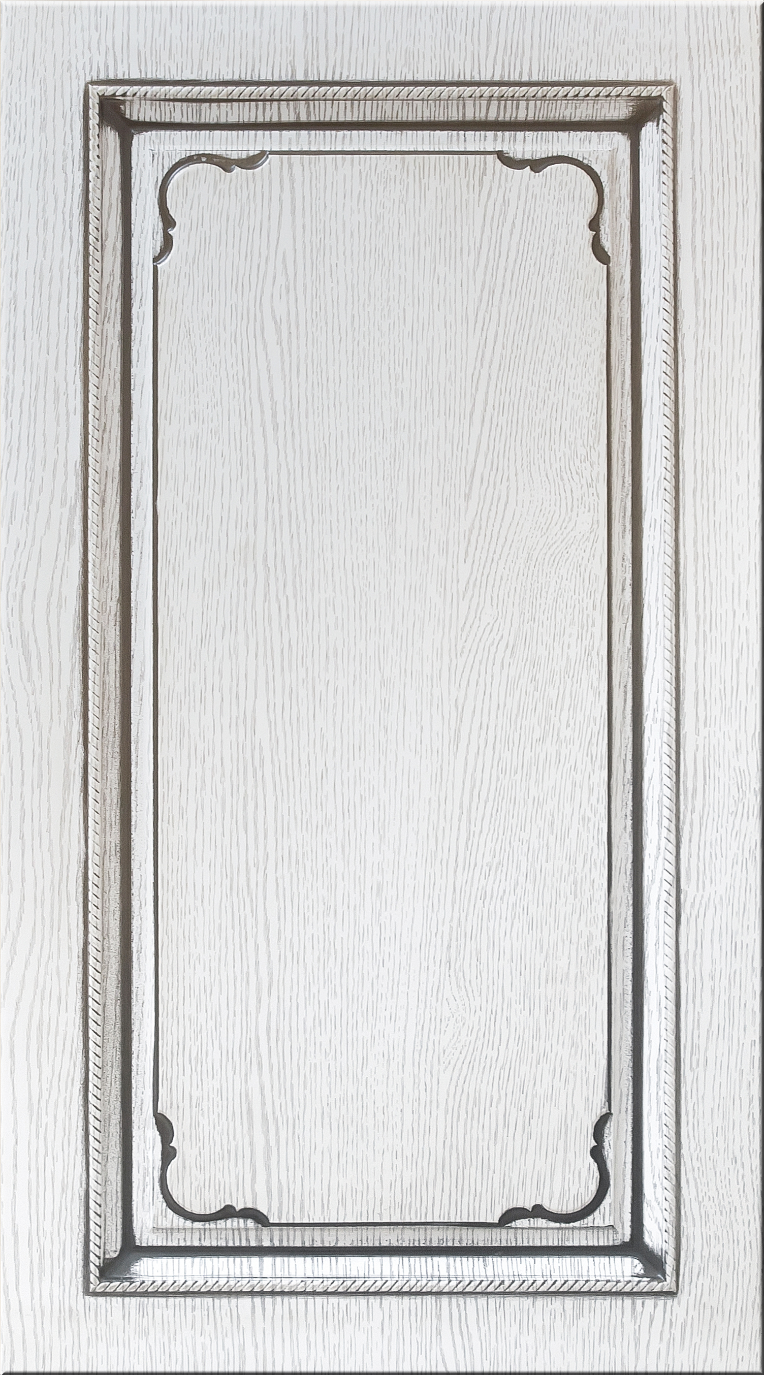 Фасады в пленке ПВХ, Фрезеровка № 54, цвет Патина премиум, патина - серебро