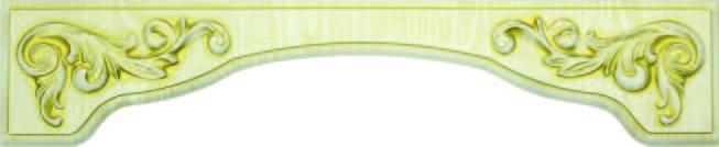 Декоративные накладки для пленочных фасадов из МДФ,  Дуг 3