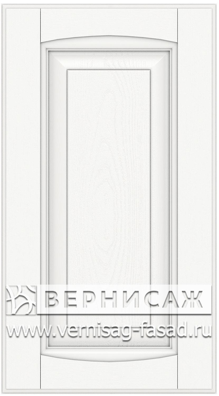 Прямые сборные фасады из МДФ в шпоне Фрезеровка №1, цвет Д01