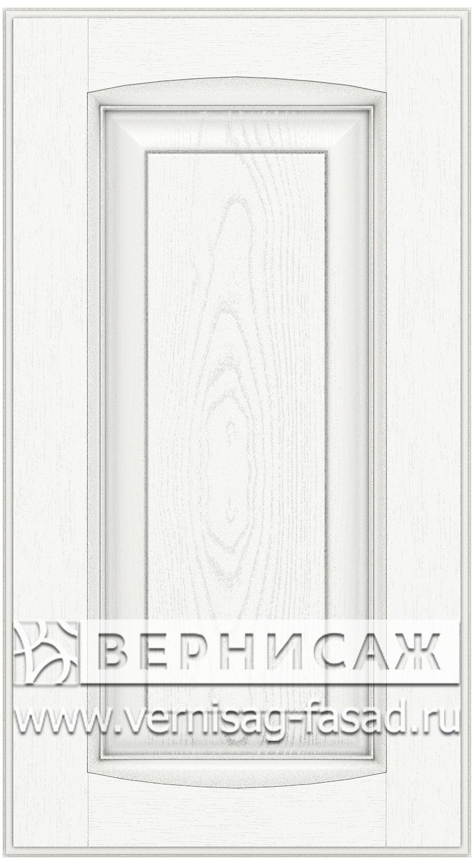Прямые сборные фасады из МДФ в шпоне Фрезеровка №1, цвет Д03