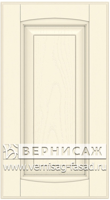 Прямые сборные фасады из МДФ в шпоне Фрезеровка №1, цвет Д16