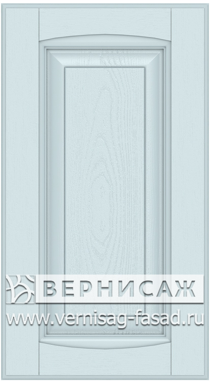 Прямые сборные фасады из МДФ в шпоне Фрезеровка №1, цвет Д18