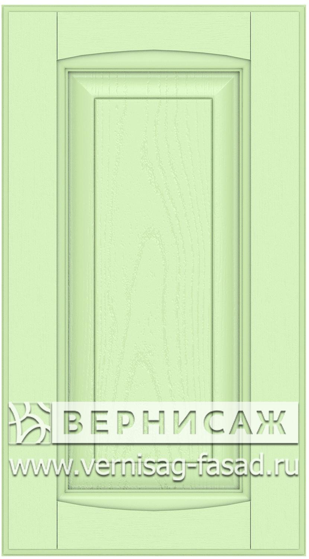 Прямые сборные фасады из МДФ в шпоне Фрезеровка №1, цвет Д20
