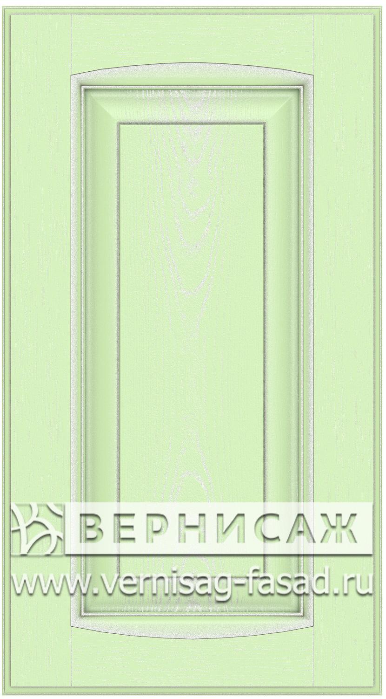 Прямые сборные фасады из МДФ в шпоне Фрезеровка №1, цвет Д23