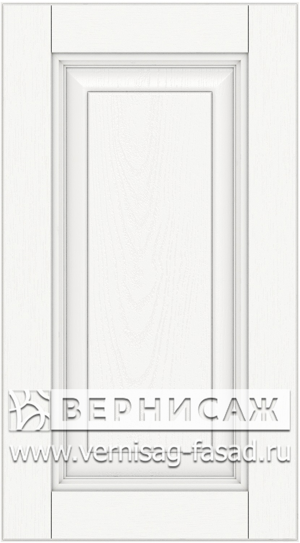Прямые сборные фасады из МДФ в шпоне. Фрезеровка №3, цвет Д01