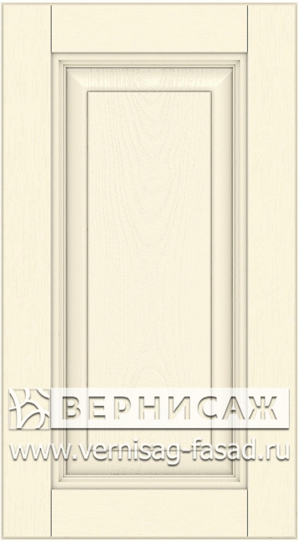 Прямые сборные фасады из МДФ в шпоне. Фрезеровка №3, цвет Д16