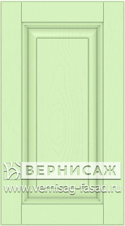 Прямые сборные фасады из МДФ в шпоне. Фрезеровка №3, цвет Д20