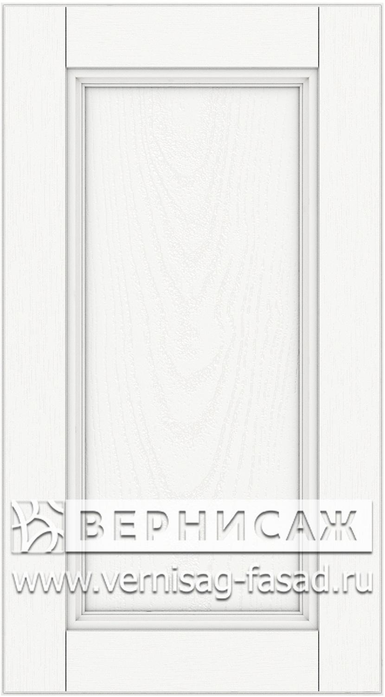 Прямые сборные фасады из МДФ в шпоне. Фрезеровка №4, цвет Д01