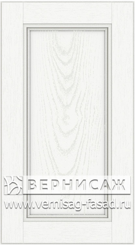Прямые сборные фасады из МДФ в шпоне. Фрезеровка №4, цвет Д03
