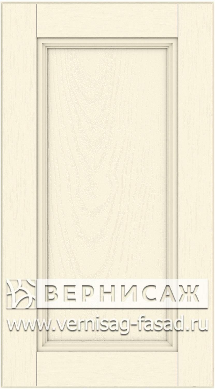 Прямые сборные фасады из МДФ в шпоне. Фрезеровка №4, цвет Д16