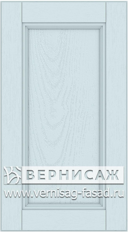 Прямые сборные фасады из МДФ в шпоне. Фрезеровка №4, цвет Д18