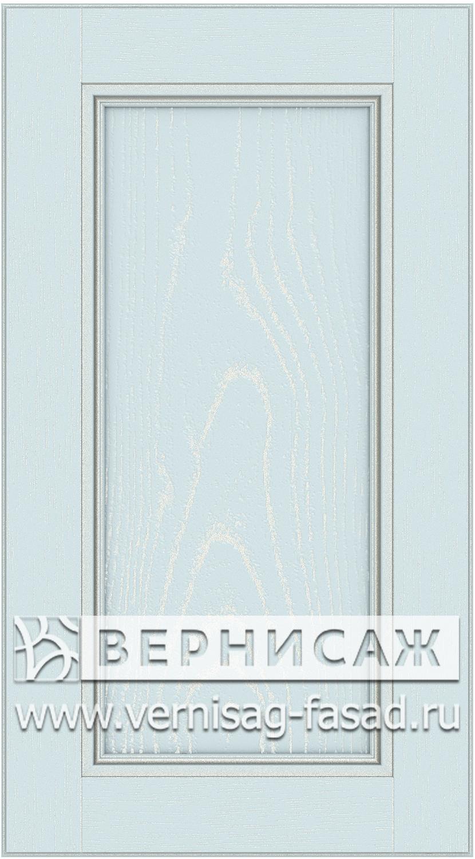 Прямые сборные фасады из МДФ в шпоне. Фрезеровка №4, цвет Д19