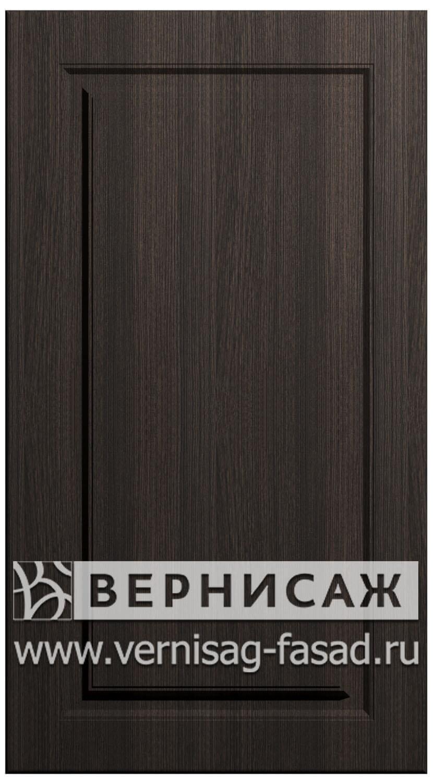 Фасады в пленке ПВХ, Фрезеровка № 73, цвет Меланж темный