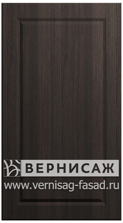 Фасады в пленке ПВХ, Фрезеровка № 74, цвет Меланж темный