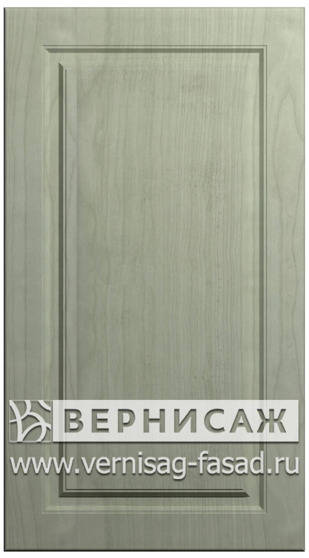 Фасады в пленке ПВХ, Фрезеровка № 73, цвет Ясень фисташка
