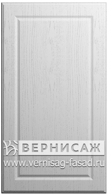 Фасады в пленке ПВХ, Фрезеровка № 74, цвет Массив Бианко