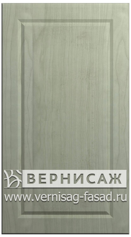 Фасады в пленке ПВХ, Фрезеровка № 74, цвет ясень фисташка