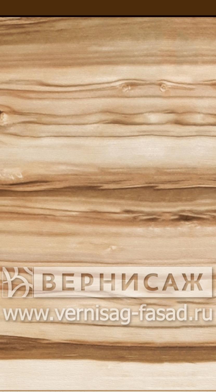 Шпонированные фасады из экзотических пород дерева, с интегрированной ручкой Орех сатиновый
