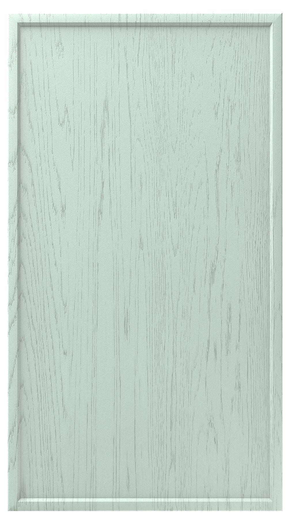 Фасады в пленке ПВХ, Фрезеровка № 75, цвет Шато мята