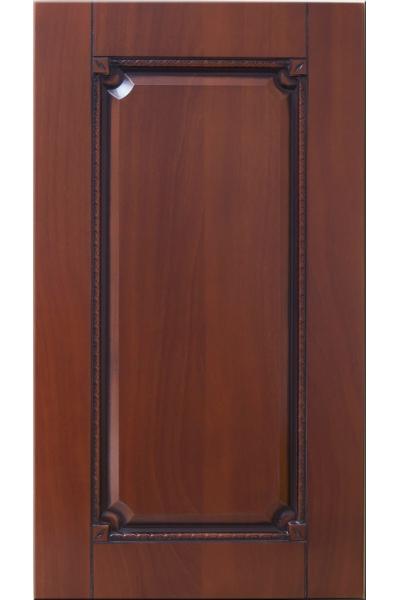 Фасады в пленке ПВХ, Фрезеровка № 60, цвет Орех итальянский, патина - орех