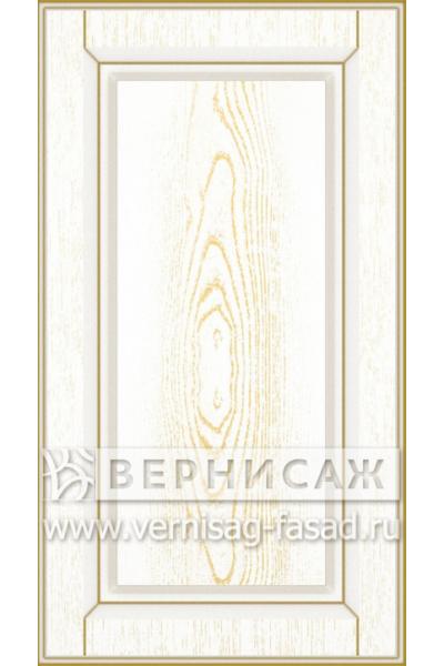 Имитация сборных фасадов из МДФ в шпоне Фрезеровка № 48, цвет Д02