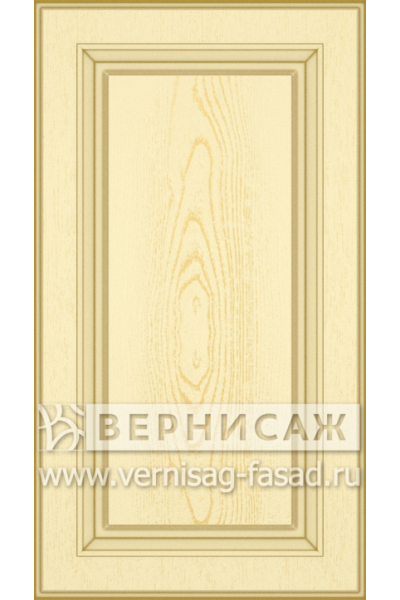 Имитация сборных фасадов из МДФ в шпоне Фрезеровка № 54, цвет Д05