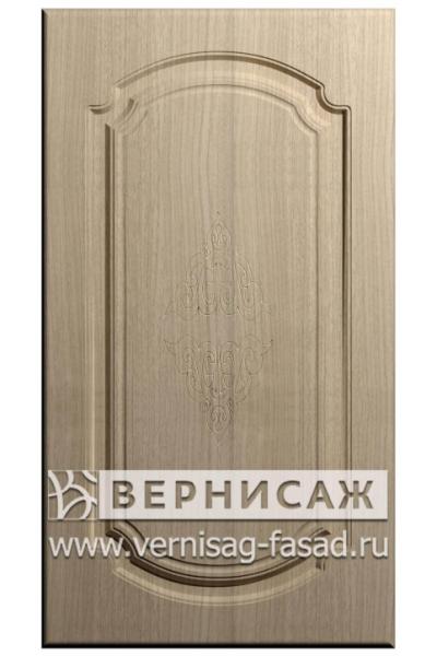 Фасады в пленке ПВХ, Фрезеровка № 27, цвет Меланж светлый