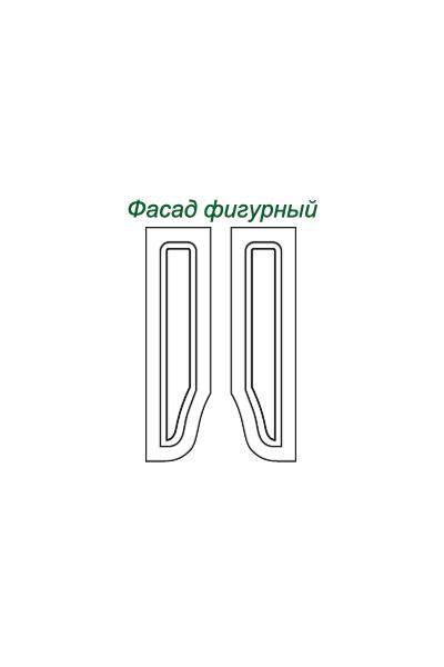 Декоративные накладки для пленочных фасадов из МДФ, Фигурный фасад