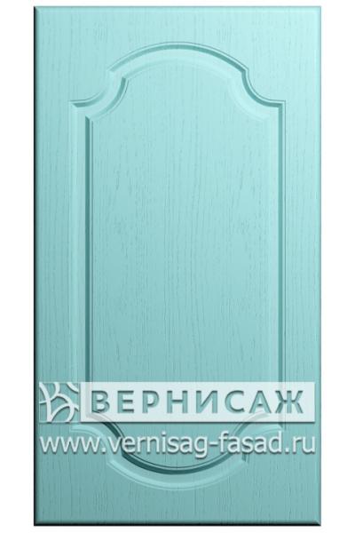 Фасады в пленке ПВХ, Фрезеровка № 16, цвет Массив Скай