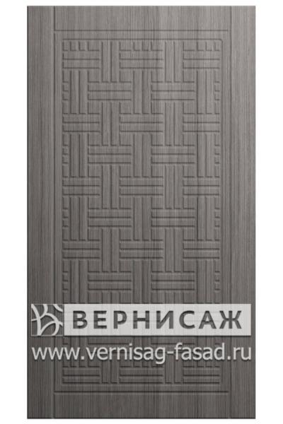 Фасады в пленке ПВХ, Фрезеровка № 24, цвет Сандал серый