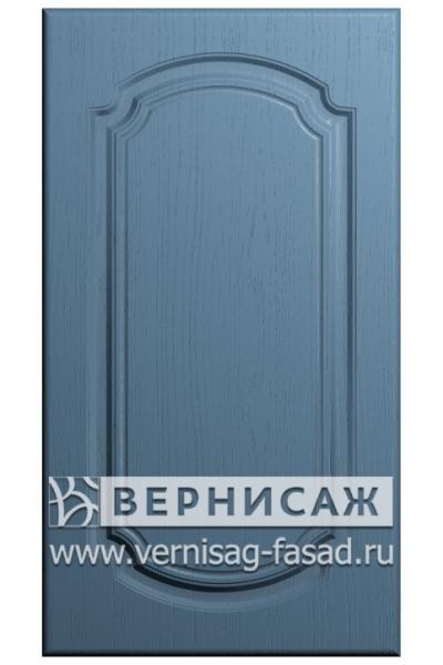 Фасады в пленке ПВХ, Фрезеровка № 25, цвет Массив деним