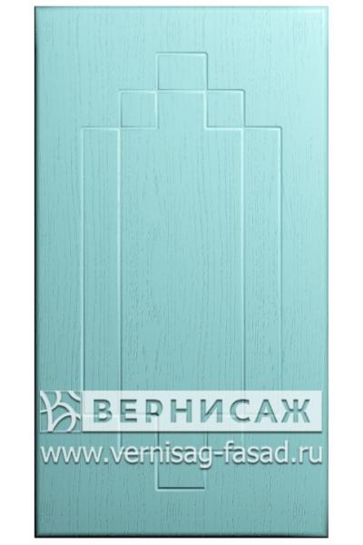 Фасады в пленке ПВХ, Фрезеровка № 37, цвет Массив Скай