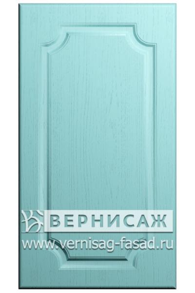 Фасады в пленке ПВХ, Фрезеровка № 38, цвет Массив Скай