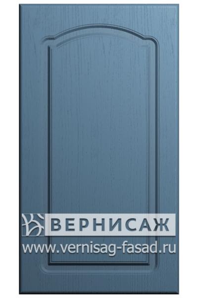 Фасады в пленке ПВХ, Фрезеровка № 3, цвет Массив Деним