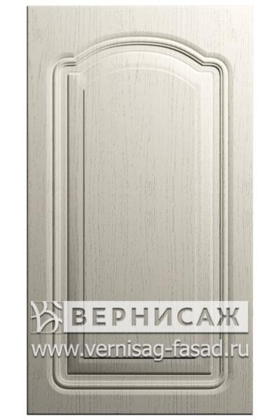 Фасады в пленке ПВХ, Фрезеровка № 40-1, цвет  Массив Магнолия