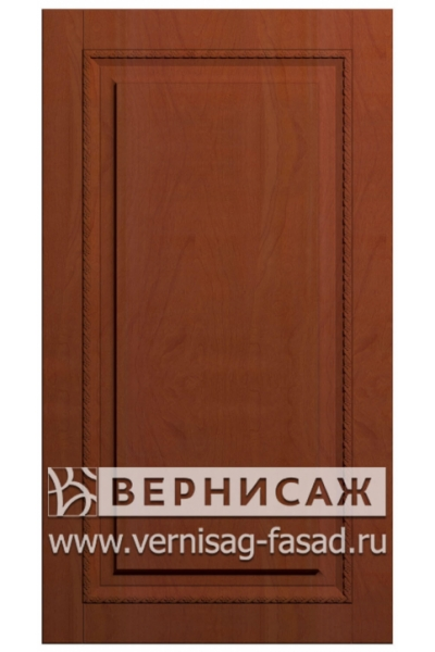Фасады в пленке ПВХ, Фрезеровка № 52, цвет Яблоня