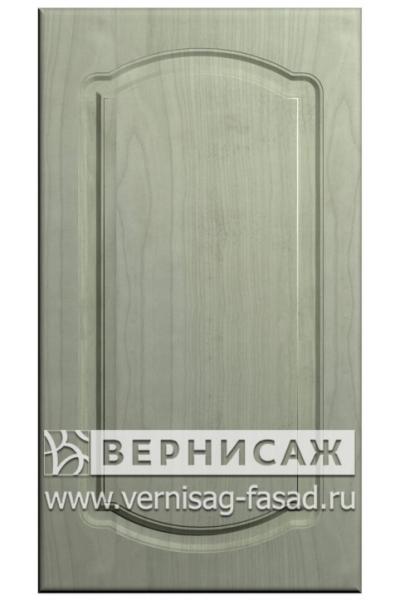 Фасады в пленке ПВХ, Фрезеровка № 8, цвет Ясень фисташка