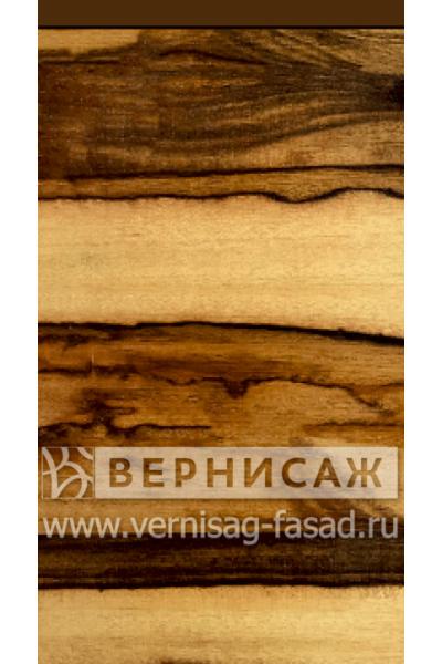 Шпонированные фасады из экзотических пород дерева, с интегрированной ручкой Марблвуд