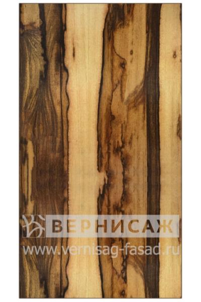 Шпонированные фасады из экзотических пород дерева, Марблвуд