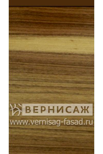 Шпонированные фасады из экзотических пород дерева, с интегрированной ручкой Орех американский