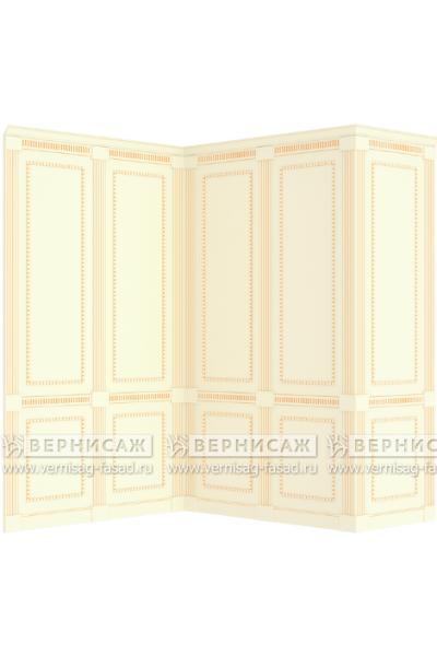Стеновые панели крашеные, вариант 1