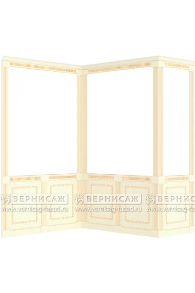 Стеновые панели крашеные, вариант 2