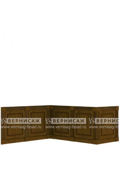 Стеновые панели из шпона, вариант 3