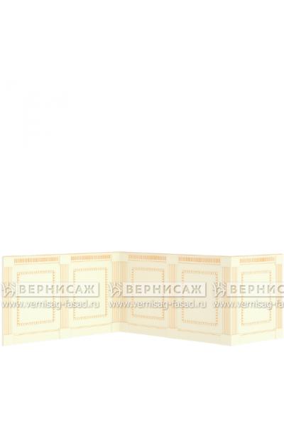 Стеновые панели крашеные, вариант 3