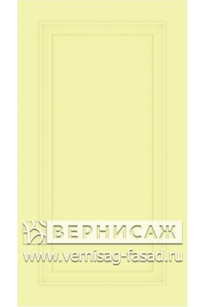 Фасады в пленке ПВХ, Фрезеровка № W1, цвет Фисташка софт