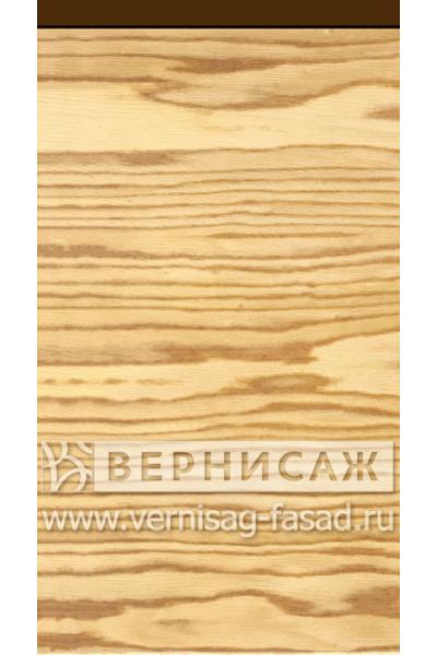 Шпонированные фасады из экзотических пород дерева, с интегрированной ручкой Ясень светлый
