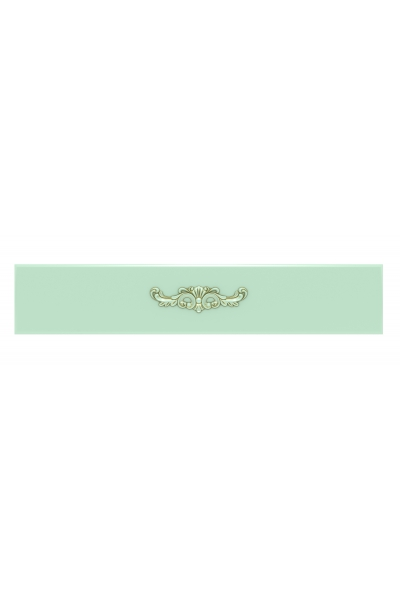 Декоративная накладка с лепниной №1, цвет Д21