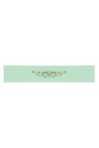 Декоративная накладка с лепниной №2, цвет Д21